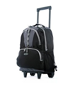 Olympia Rolling Black Backpack