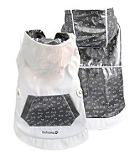 FouFou Dog™ Dark Silver Reversible Raincoat