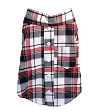 FouFou Dog™ Plaid T-Shirt