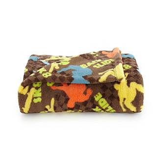 LivingQuarters Kids' Skateboards Micro Cozy Throw