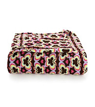 LivingQuarters Kids' Butterfly Micro Cozy Throw