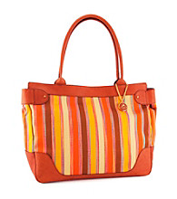 Koret™Keather Trimmed Stripe Large Tote