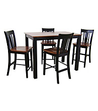International Concepts San Remo 5-pc. Counter Height Dining Room Set