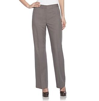 Kasper® Melange Pearl Gray Pants
