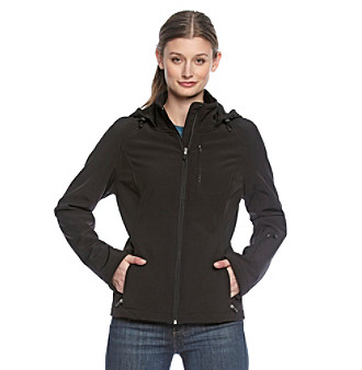 Calvin Klein Performance Hooded Softshell Jacket