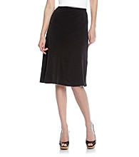 Notations® Black Skirt
