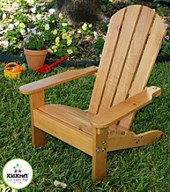 KidKraft Honey Adirondack Chair