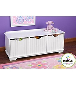 KidKraft White Nantucket Storage Bench