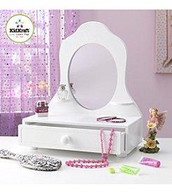 KidKraft White Tabletop Vanity