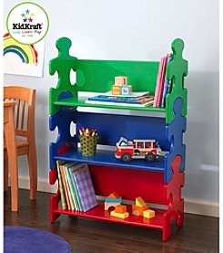 KidKraft Primary Colors Puzzle Bookshelf