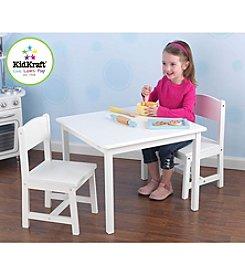 KidKraft Aspen White Table & Chair Set
