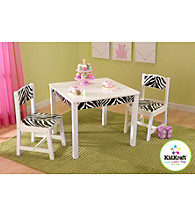 KidKraft Fun & Funky Zebra Table & Chair Set