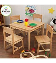 KidKraft Farmhouse Natural Table & Chair Set