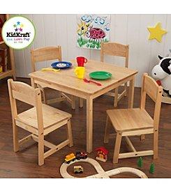 KidKraft Farmhouse Natural Table & Chair Set