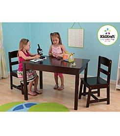 KidKraft Espresso Rectangle Table & Chair Set
