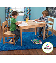 KidKraft Natural Rectangle Table & Chair Set