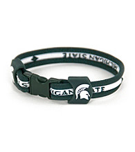 NCAA® Michigan State Team Bracelet