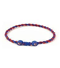 NCAA® University of Kansas Twist Team Necklace