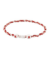 NCAA® University of Nebraska Twist Team Necklace