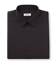 Calvin Klein Men's Textured Long Sleeve Dress Shirt