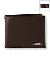 Fossil® Men's Evans Zip Pascase Wallet