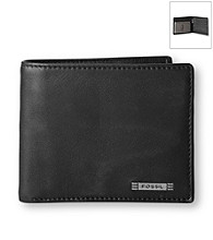 Fossil® Men's Evans Zip Traveller Wallet