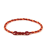 NCAA® Virginia Tech Twist Team Necklace