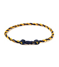 NCAA® University of West Virginia Twist Team Necklace