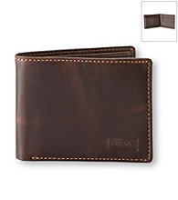 Fossil® Men's Brown Sam Traveller Wallet