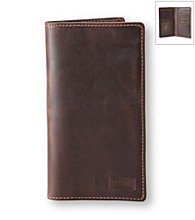 Fossil® Men's Brown Secretary Wallet