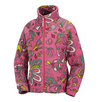 Columbia Baby Girls' Pink Paisley Print Benton Springs™ Fleece Jacket