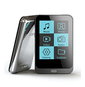 "Coby® 8 GB MP3 Video Player with 2"" Display"