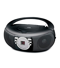 Coby® Portable MP3/CD Player with AM/FM Radio