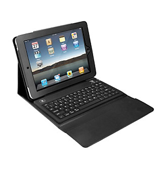 Innovative Technology Case for iPad® with Bluetooth®-Compatible Keyboard