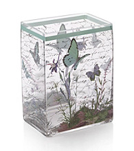 Crystal Clear® Notions Blue Butterfly Vase