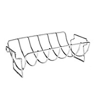 Charcoal Companion Stainless Reversible Roasting or Rib Rack