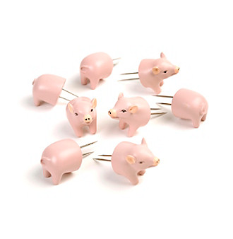 Charcoal Companion 4-pc Pig Shaped Corn Holders