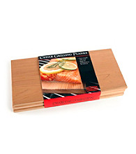 Charcoal Companion Stainless Plank Saver with Side Handles and 3 Planks