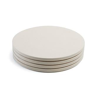 "Charcoal Companion 4-pc. Round 8"" Mini Pizza Stone Set"