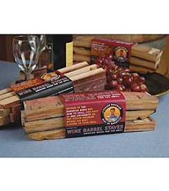 Steven Raichlen Best of Barbeque™ 32oz. Wine Barrel Staves  Bundle