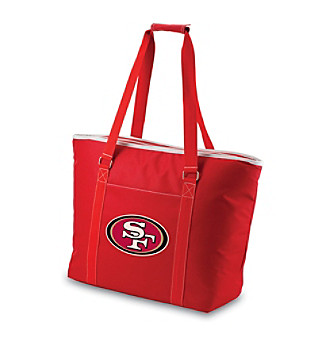 Picnic Time® NFL® San Francisco 49ers Tahoe Digital Print Extra Large Insulated Cooler Tote
