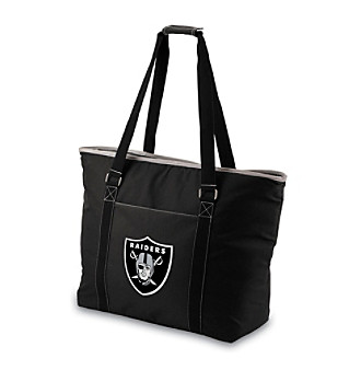 Picnic Time® NFL® Oakland Raiders Tahoe Digital Print Extra Large Insulated Cooler Tote
