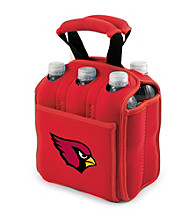Picnic Time® NFL® Arizona Cardinals Six Pack Digital Print Insulated Holder