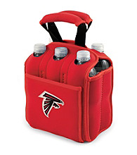 Picnic Time® NFL® Atlanta Falcons Six Pack Digital Print Insulated Holder