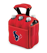Picnic Time® NFL® Houston Texans Six Pack Digital Print Insulated Holder