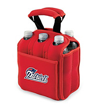 Picnic Time® NFL® New England Patriots Six Pack Digital Print Insulated Holder