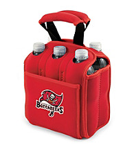Picnic Time® NFL® Tampa Bay Buccaneers Six Pack Digital Print Insulated Holder
