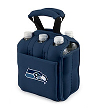 Picnic Time® NFL® Seattle Seahawks Six Pack Digital Print Insulated Holder