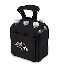 Picnic Time® NFL® Baltimore Ravens Six Pack Digital Print Insulated Holder