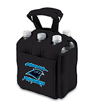 Picnic Time® NFL® Carolina Panthers Six Pack Digital Print Insulated Holder